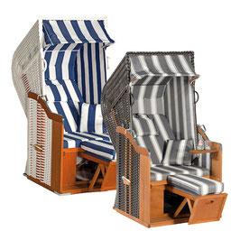 Strandkorb Rustikal 250 Plus 1-Sitzer