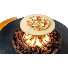 Pizzastein für Grillaufsatz  BBQ
