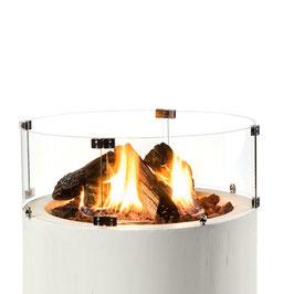 Glasumbau rund für Feuertisch Calice/Tondo