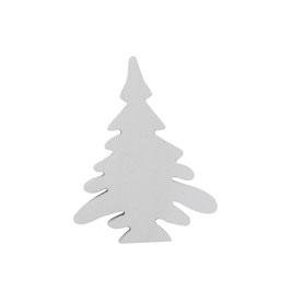 Winterbäumchen  weiß klein