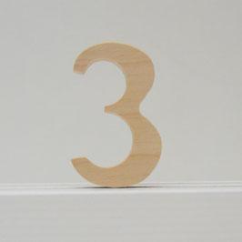Zahl -3- natur