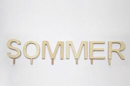 Schriftzug -SOMMER-