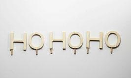 Schriftzug -HO HO HO-