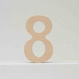 Zahl -8- natur