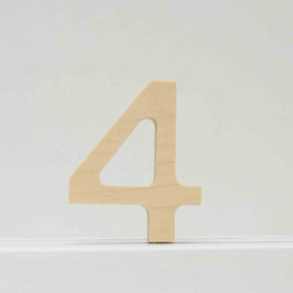 Zahl -4- natur