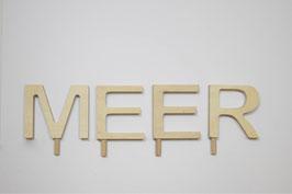Schriftzug -MEER-