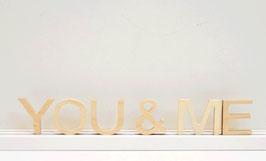 Schriftzug -You&ME-