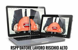 Corso RSPP Datore di Lavoro - Rischio Alto