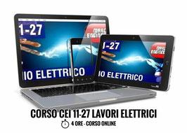 CEI 11-27 IV Edizione Lavori Elettrici