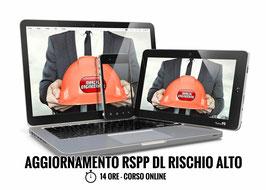 Corso AGGIORNAMENTO RSPP Datore di Lavoro - Rischio Alto