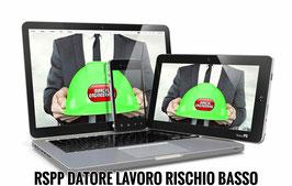 Corso RSPP Datore di Lavoro - Rischio Basso