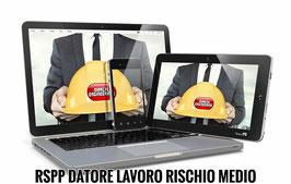 Corso RSPP Datore di Lavoro - Rischio Medio