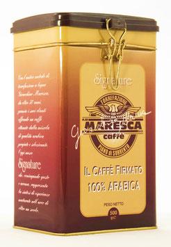 Scatola in metallo per il caffè ORO