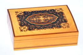 Serie di 4 scatole intarsiate intarsio sorrento