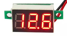 LED volt meter mini