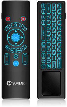 Daljinski upravljalnik - Air Mouse, mini tipkovnica, Touch pad, Voice control