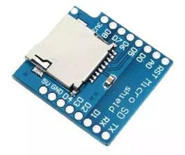 Čitalec micro SD kartic Wemos