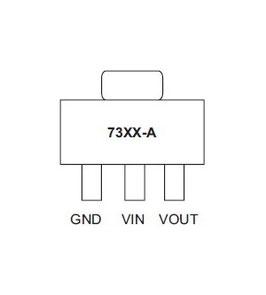 HT73xx 3.3V, 5V   SOT-89