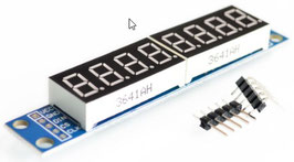 LED 7 segmentni 8 mestni