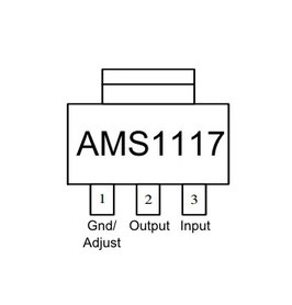 AMS1117 SOT223