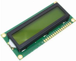 LCD 16x2 karakter zelen