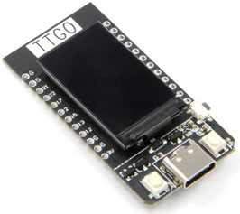 """ESP32 TTGO IPS barvni 1.14"""" , Lipo, USBC"""