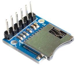 Čitalec micro SD kartic - 3,3V