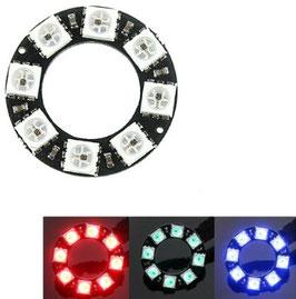 LED WS2812 PCB krog 8 kos