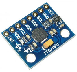 Senzor gyro MPU6050 3-osni I2C