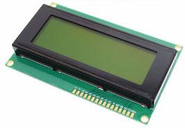 LCD 20x4 karakter zelen