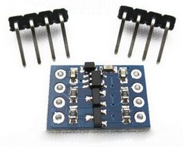 Napetostni pretvornik 3.3V / 5V 2 kanalni
