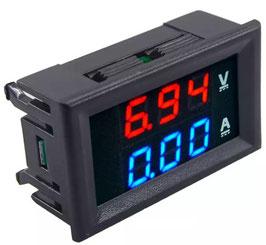 LED volt amper meter 100V / 10A