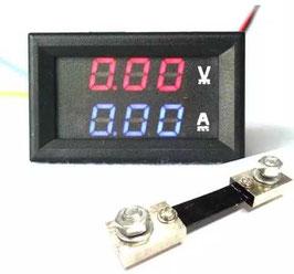 LED volt amper meter 100V / 100A
