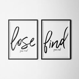 PRINT lose & find