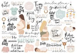 INSTAGRAM STORY STICKER PREGNANCY