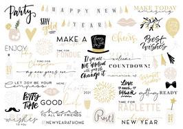 INSTAGRAM STORY STICKER NEW YEAR