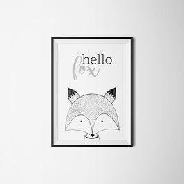 PRINT HELLO FOX
