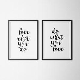 PRINT love & do