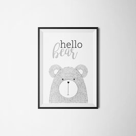 PRINT HELLO BEAR