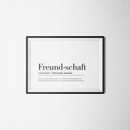 PRINT FREUNDSCHAFT