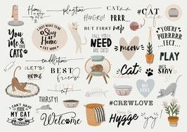 INSTAGRAM STORY STICKER CATS