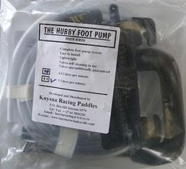 K2 Hubby Foot Pump 2 Pumpstücke, Fußpumpe Kajak