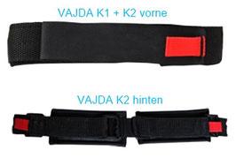 Vajda Fußhalterung Gurt für PowerGlide, Gen. 2