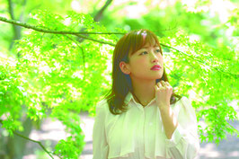 小手指駅イメージモデル 前田梨花1st SingleCD「ありがとう/小手指発どこへでも」
