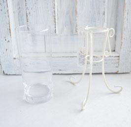 ガラス花器(小 15㎝)