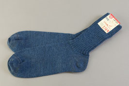 Socken mittlere Stärke blau