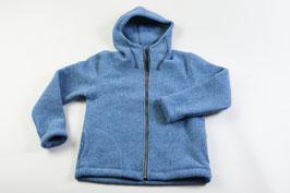 Jacke mit Kapuze blau