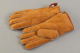 Fingerhandschuhe hellbraun