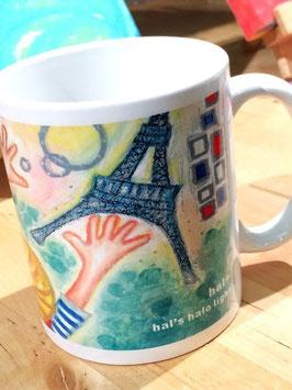 mug cup「パリの春」