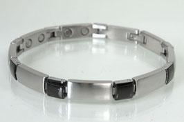 8647BLS - Magnetarmband Bicolore